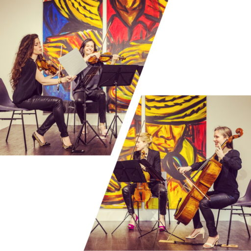 Les Parisiennes Quatuor - Espace Alies Guinard