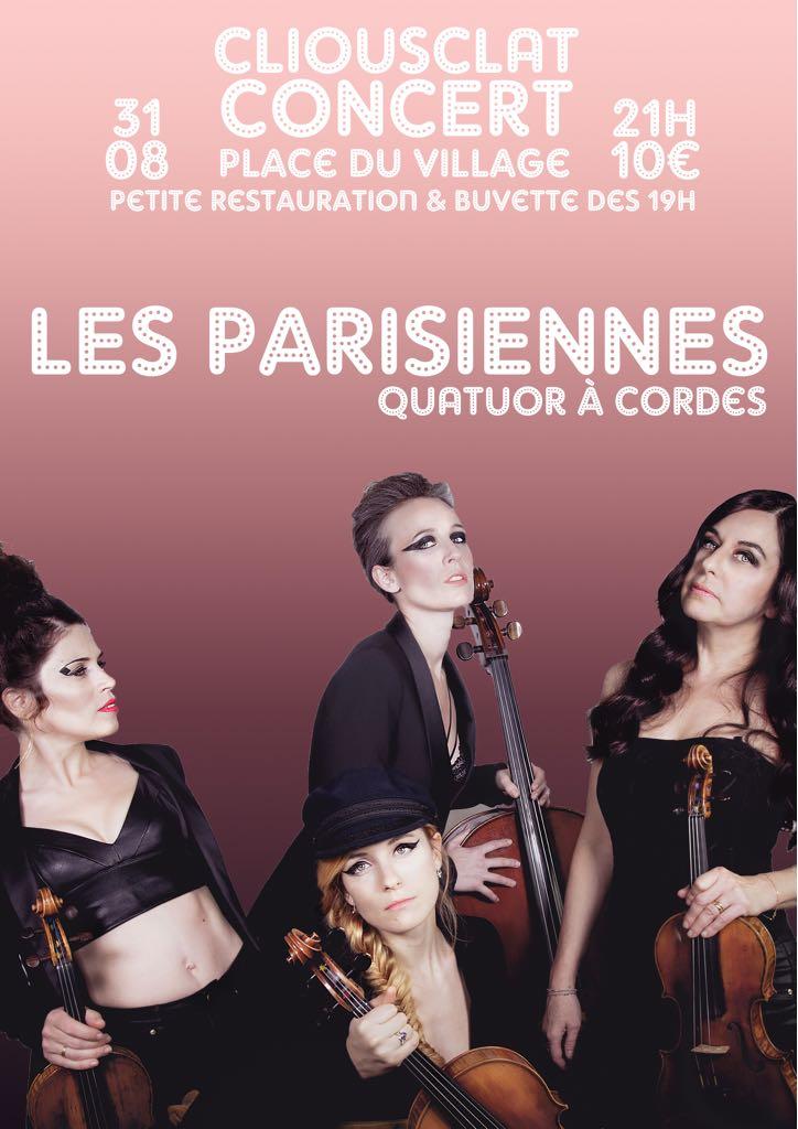 un quatuor classique pour un répertoire Pop